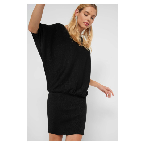 Dzianinowa sukienka nietoperz Orsay