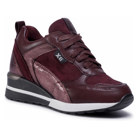 Sneakersy XTI - 57223 Burgundy