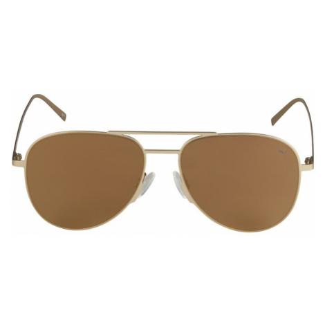 PUMA Okulary przeciwsłoneczne 'PU0160S-005 57' jasnobrązowy / złoty