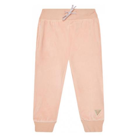 Guess Spodnie dresowe K0BQ04 KA2X0 Pomarańczowy Regular Fit