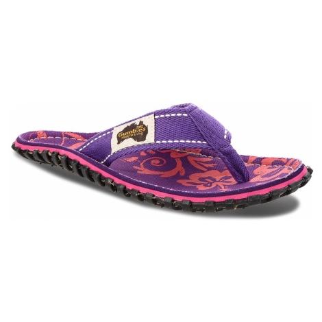 Japonki GUMBIES - Islander Purple Hibiscus