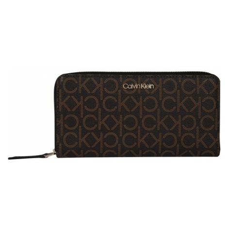 Calvin Klein Portmonetka ciemnobrązowy / brązowy