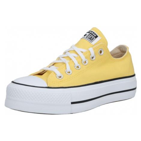 CONVERSE Trampki niskie 'Chuck Taylor All Star Lift' żółty / biały