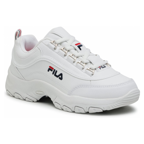 Sneakersy FILA - Strada Low Kids 1010781.1FG White