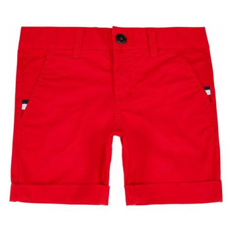 TOMMY HILFIGER Szorty materiałowe Essential KB0KB05599 M Czerwony Slim Fit
