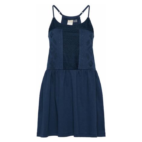 ROXY Letnia sukienka 'WHITEBEACHES' ciemny niebieski