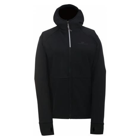 LINSELL - Damska bluza z kapturem ECO (druga warstwa) - czarna