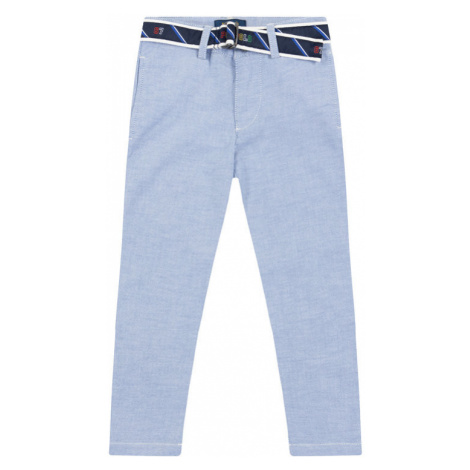 Polo Ralph Lauren Spodnie materiałowe 323785717 Niebieski Regular Fit