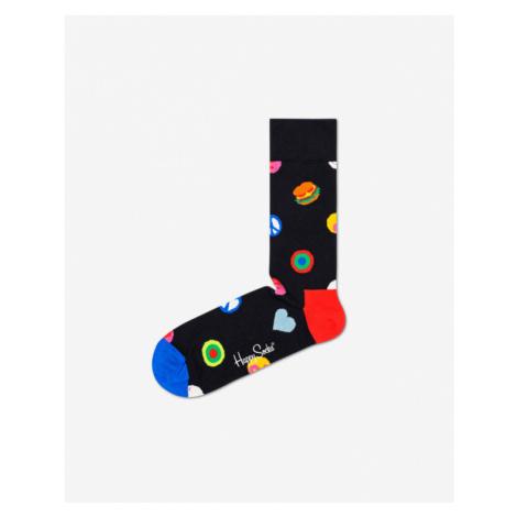 Happy Socks Symbol Dot Skarpetki Czarny