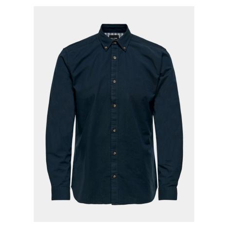 ONLY & SONS niebieski męska koszule Blake