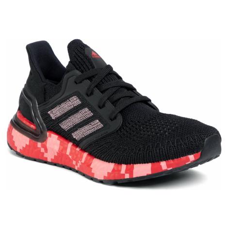 Buty adidas - Ultraboost 20 EG0761 Cblack/Glopnk/Scarle