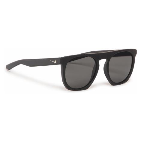 Okulary przeciwsłoneczne NIKE - Flatspot P EV1039 001 Black/Mt Black