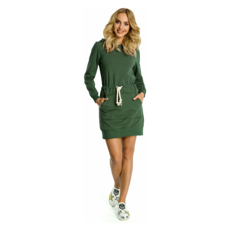 Made Of Emotion Woman's Dress M352 Military