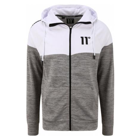 11 Degrees Bluzka sportowa nakrapiany szary / biały / czarny