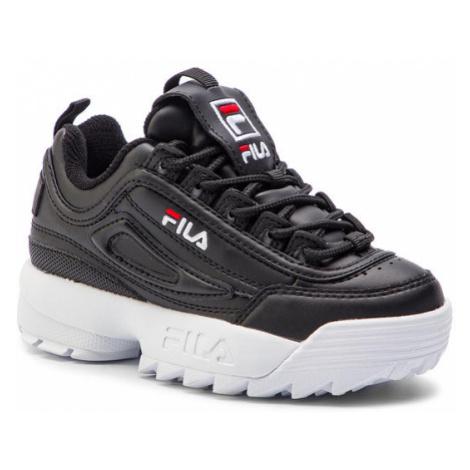 Fila Sneakersy Disruptor Kids 1010567.25Y Czarny