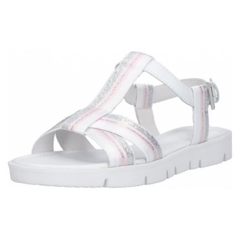 Kennel & Schmenger Sandały 'Elle X' różany / srebrny / biały