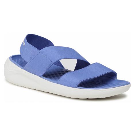Sandały CROCS - Literide Streach Sandal W 206081 Lapis/White