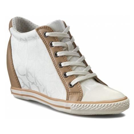 Sneakersy CALVIN KLEIN JEANS - Vero RE9258 White/Natu