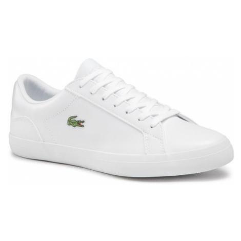 Lacoste Sneakersy Lerond Bl 1 Cam 7-33CAM1032001 Biały