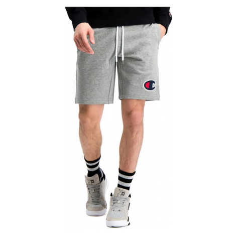 Champion C Logo Cotton Terry Bermuda > 214192-EM525