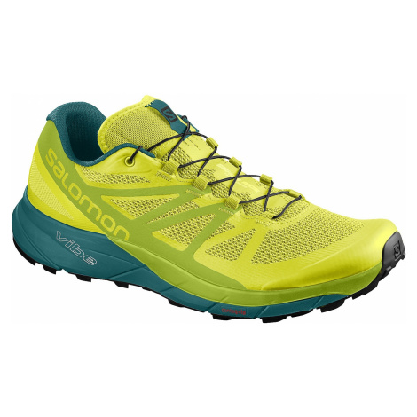 buty Salomon Sense Ride - Sulphur Spring/Lime Green/Deep Lake