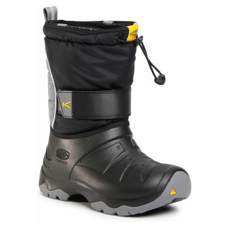 Śniegowce KEEN - Lumi Boot II Wp 1023710 Black/Steel Grey