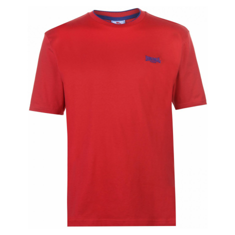 Lonsdale Tipped Tee Mens