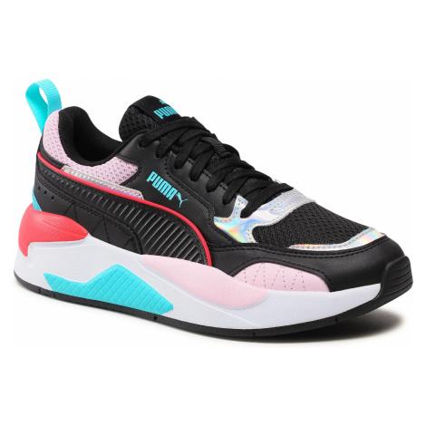 Sneakersy PUMA - X-Ray 2 Square Iri Wmn's 375965 01 Black/Black/Pink Lady/Silver