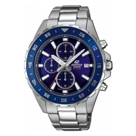 Casio Zegarek Edifice EFR-568D-2AVUEF Srebrny