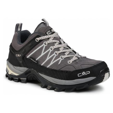 Trekkingi CMP - Rigel Low Wmn Trekking Shoes Wp 3Q13246 Graffite/Gesso 37UF