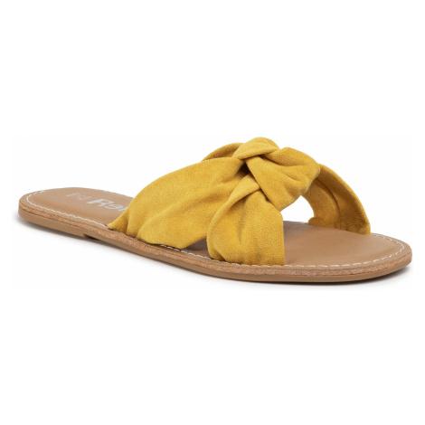 Klapki REFRESH - 69687 Yellow