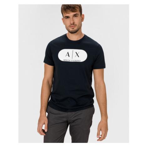 Armani Exchange Koszulka Niebieski