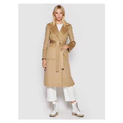 MAX&Co. Płaszcz wełniany Runaway 40119721 Brązowy Regular Fit