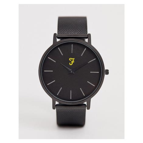 Farah mesh watch in black