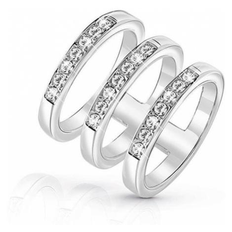 Guess Luksusowy potrójne pierścień UBR84036 (obwód 56 mm)