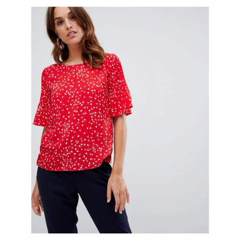 French Connection Komo printed blouse