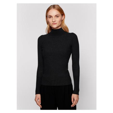 Boss Sweter C_Florensa 50443181 Czarny Slim Fit Hugo Boss