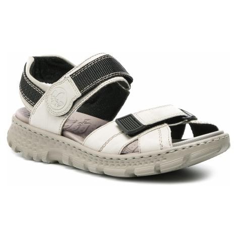Sandały RIEKER - 67853-60 Beige