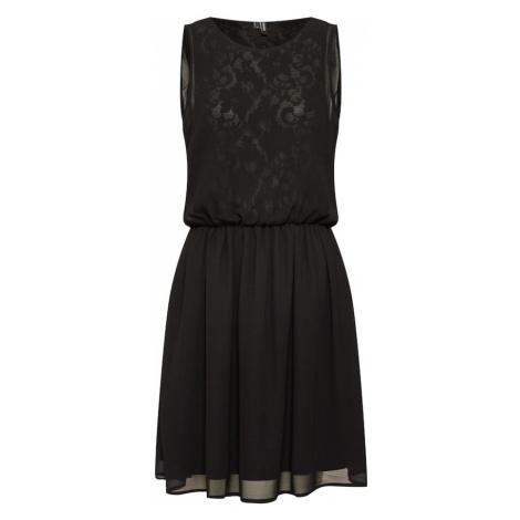 VERO MODA Sukienka koktajlowa 'VMMIA S/L LACE DRESS' czarny