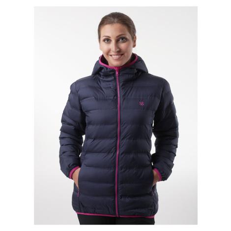 Ciemnoniebieska damska kurtka z wiązką zimową LOAP Itiana
