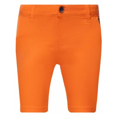 Mayoral Szorty materiałowe 202 Pomarańczowy Regular Fit