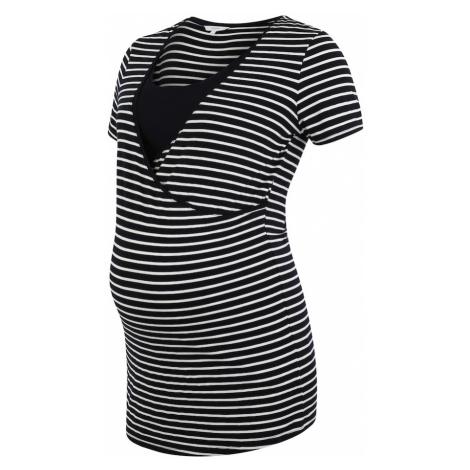 Noppies Koszulka 'Paris' niebieska noc / biały / czarny