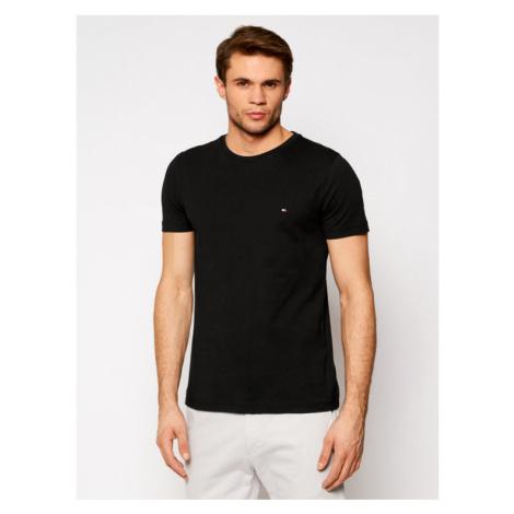 Tommy Hilfiger T-Shirt Back Logo Tee MW0MW17681 Czarny Regular Fit