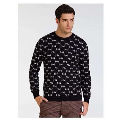 Żakardowy Sweter Marciano Z Logo Guess