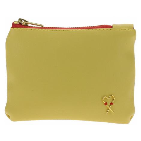 portfel Xiss Mini - Yellow/Red