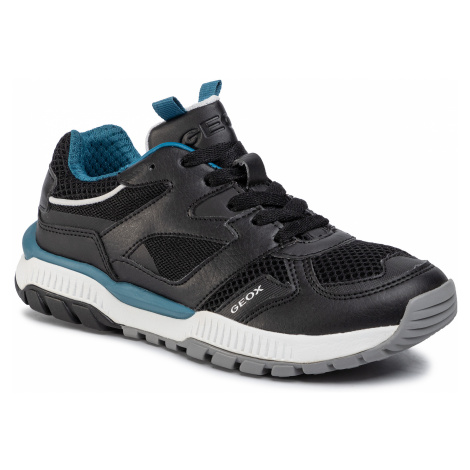 Sneakersy GEOX - J Tuono B. C J02AXC 014BU C9269 S Black/Petrol