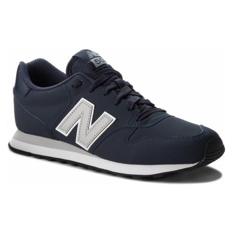 Sneakersy NEW BALANCE - GM500BLG Granatowy