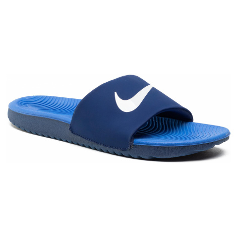 Klapki NIKE - Kawa Slide (GS/PS) 819352 404 Blue Void/Signal Bue