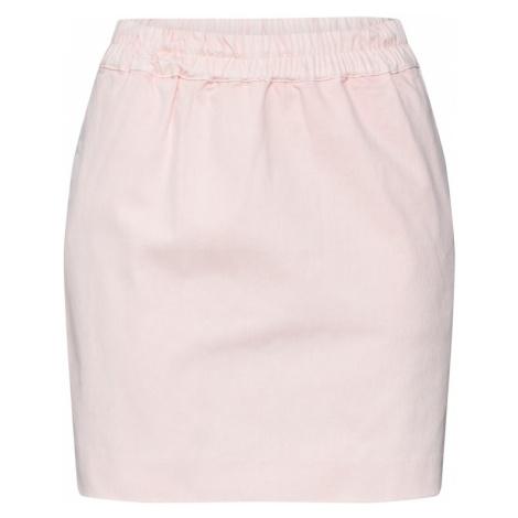 Review Spódnica 'BASIC DRAWSTRING' różowy pudrowy