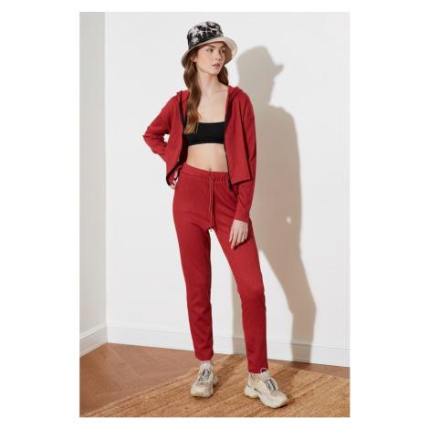Trendyol Tile Zip Hood knitted tracksuit set